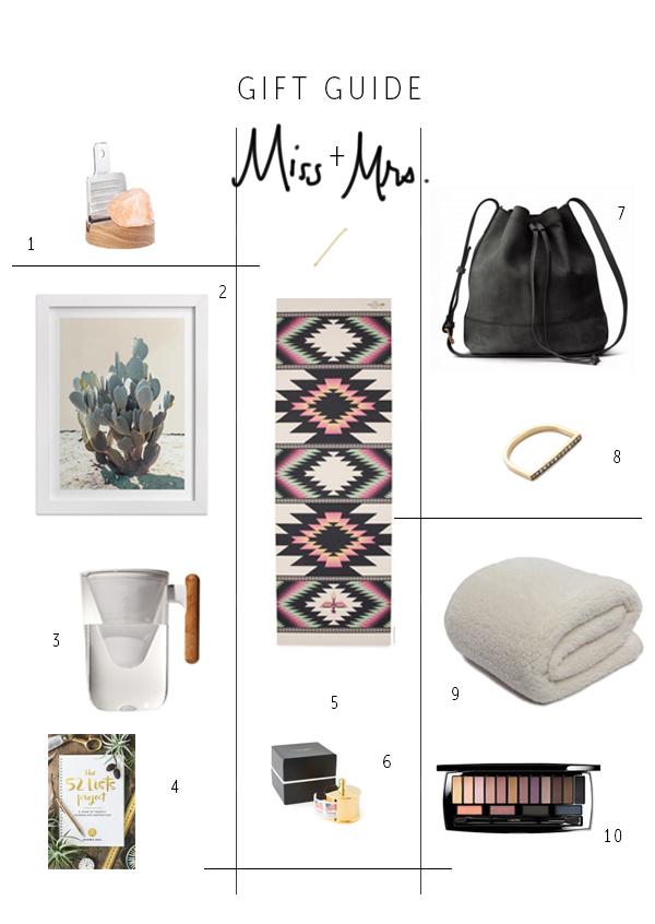 Miss + Mrs. Gift Guide 2015 | La La Lovely