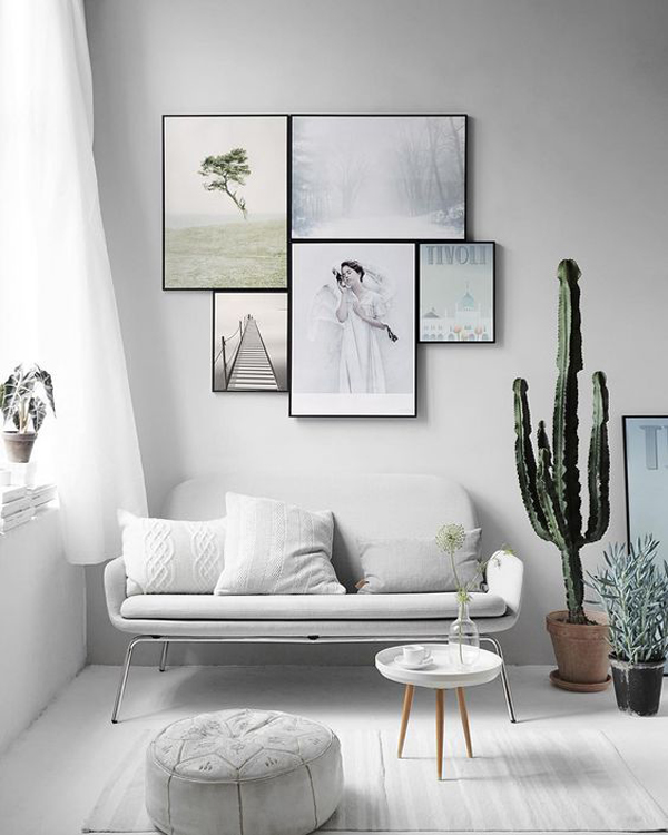 Styled Gallery Wall