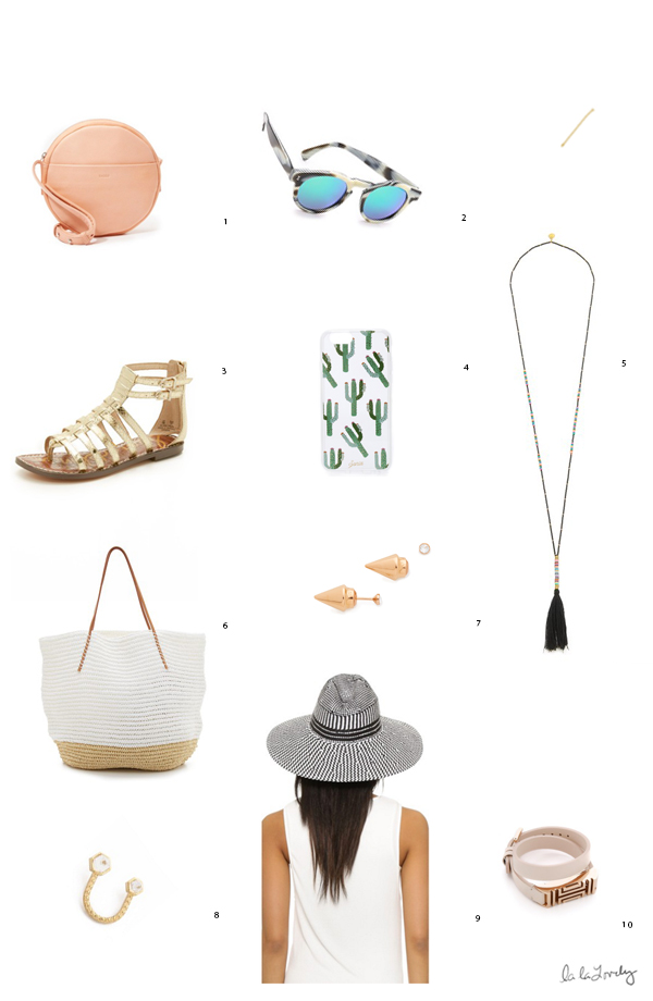 10 Accessories for Summer | La La Lovely