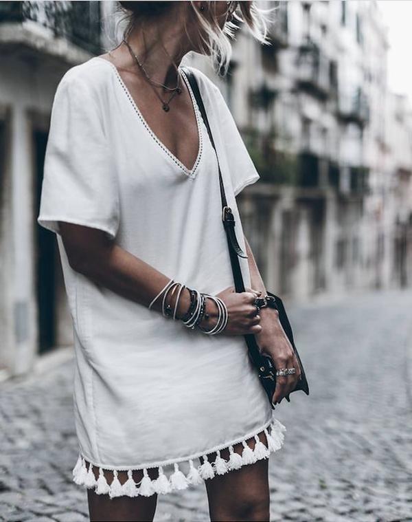 La La Loving Tassel Dress