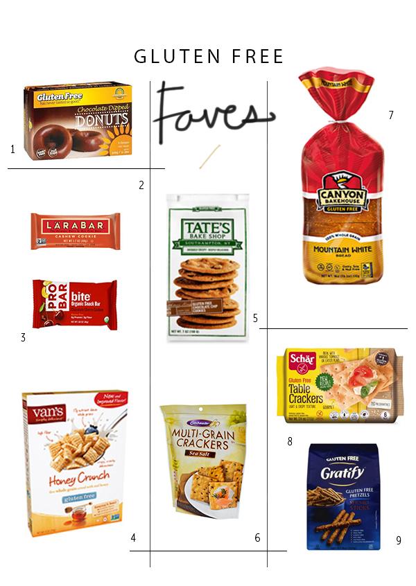 Gluten Free Faves   La La Lovely