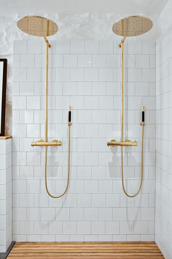 La La Loving Brass Shower