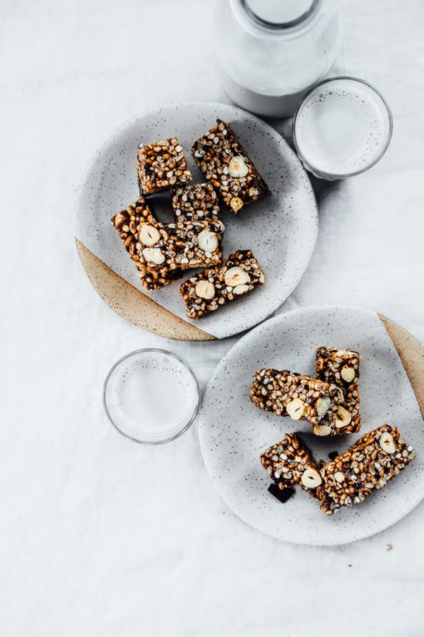 Healthy Rice Crispy Bars