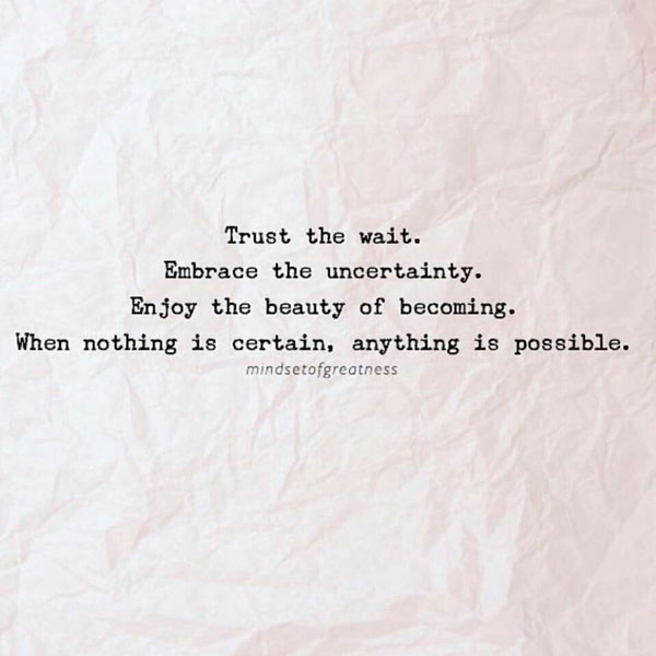 Anything Is Possible #Quote