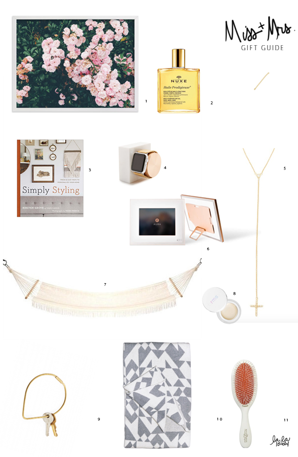 Miss + Mrs. Gift Guide | La La Lovely