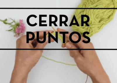 CERRAR PUNTOS