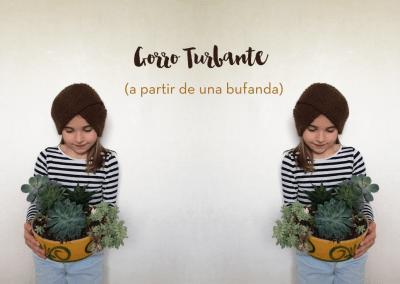 GORRO TURBANTE (más fácil imposible)