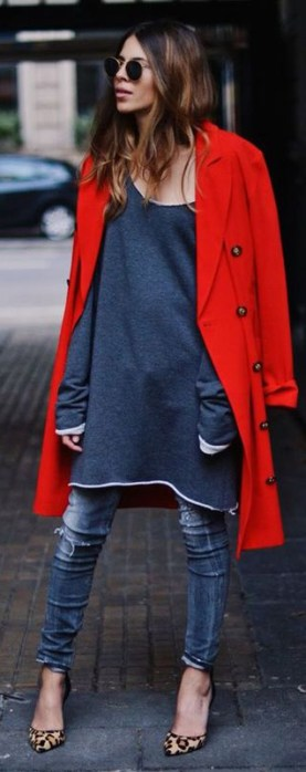 vestido com calça 14
