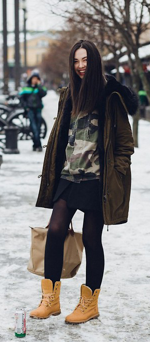 look timberland boots 11