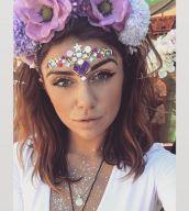 make carnaval com aplique de strass cristais festival 23