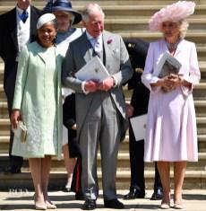 Doria Ragland, mãe de Meghan, Prince Charles e Camila Parker