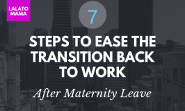 7 Steps to go back to work
