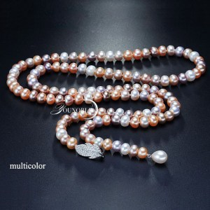 Bridal pearl necklace