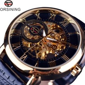 3d Logo Design Skeleton Mechanical Watches