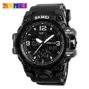 Fashion Men Sports Watches Analog Digital Clock