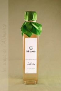Sirop artisanal Aneth Citron vert