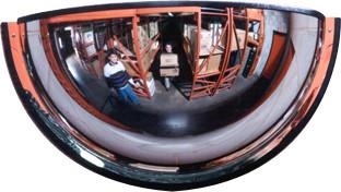 Miroir demi-dôme 180° #TRMD3318000