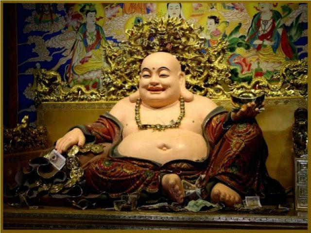 buda de la buena suerte oracion para atraer riqueza, prosperidad, fortuna M