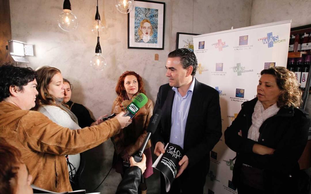 El Ayuntamiento de l'Alfàs del Pi invertirá en 2016 más de 11 millones de euros en 26 actuaciones de mejora urbana
