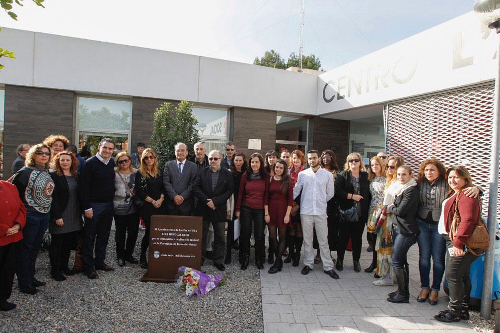 El Ayuntamiento de l'Alfàs rinde homenaje a Lina Mengual Such