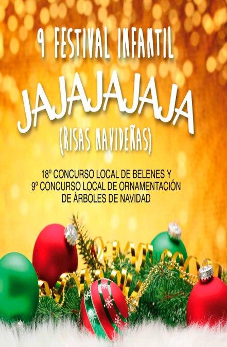Llega al auditorio de la casa de cultura el noveno festival infantil Jajaja Risas Navideñas