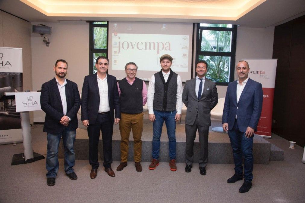 Unos 60 empresarios asisten al encuentro organizado por Jovempa Marina Baixa y la concejalía de Desarrollo Local de l'Alfàs