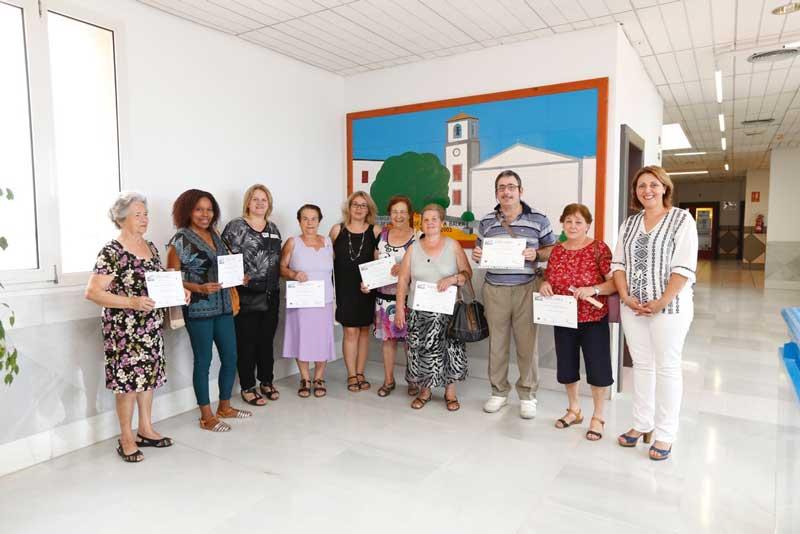 Con la entrega de diplomas finaliza el Programa de Formación Básica para Adultos