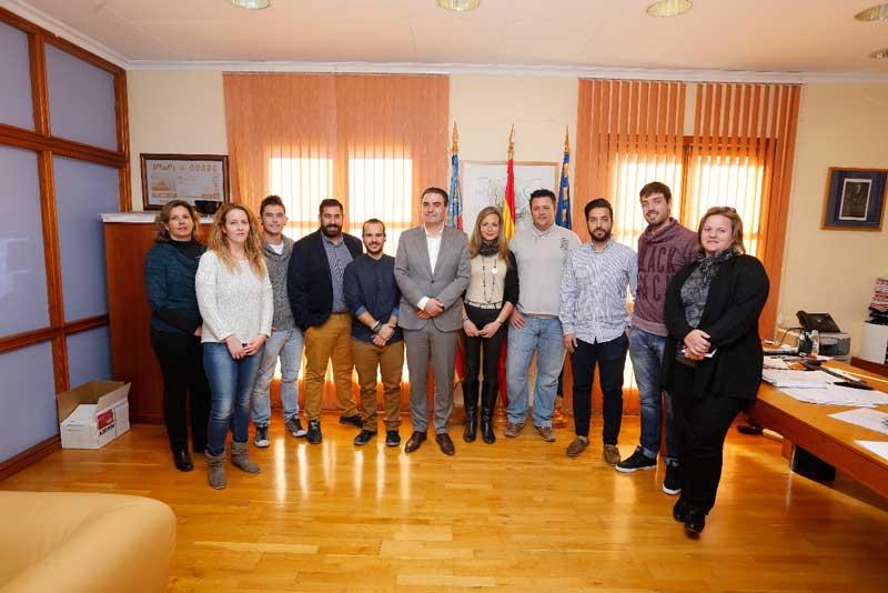 El alcalde se reúne con los nuevos mayorales de las Fiestas del Jubileo y del Santísimo Cristo del Buen Acierto