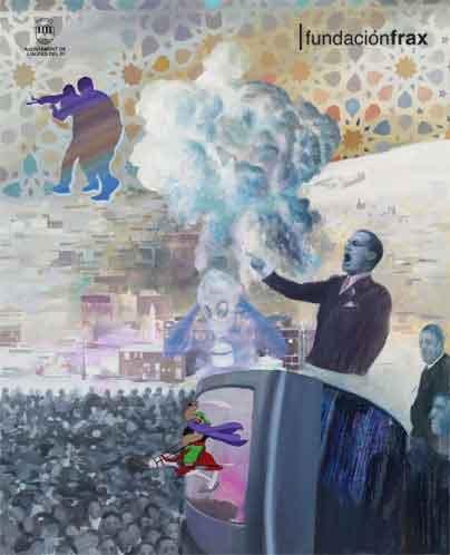 """Llega a la Fundación Frax la exposición """"El paradigma islamofóbico"""" de José Antonio Hinojos"""