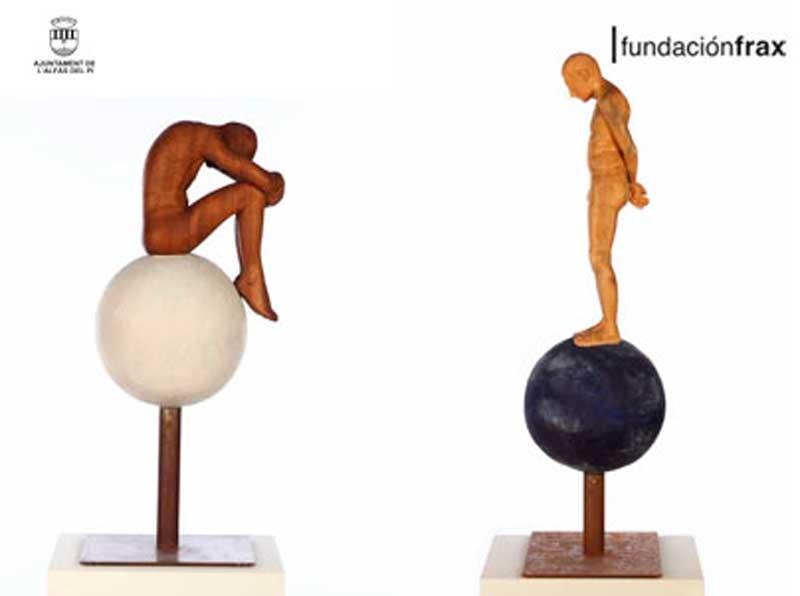 Llega a la Fundación Frax la exposición de esculturas de Carmelo J. Navarro