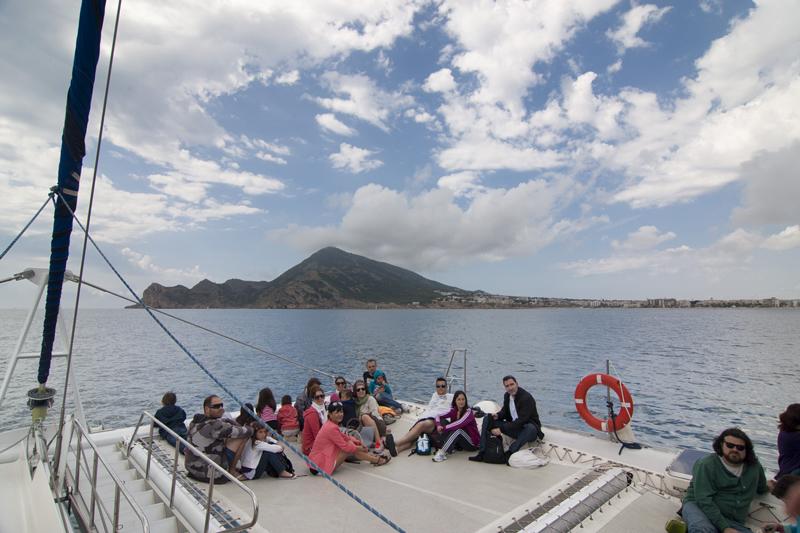 Conocer la riqueza geológica del parque natural de Serra Gelada en catamarán
