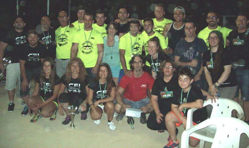 Los alzadores de l'Alfàs triunfan en las 48 horas de Multideporte de San Vicente de Raspeig