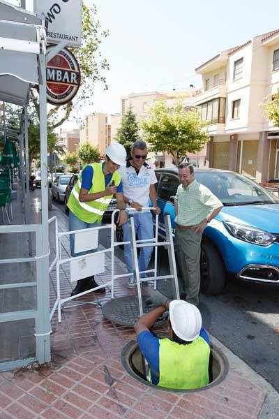La fibra óptica comenzará a dar servicio en L'Alfàs a mediados de agosto