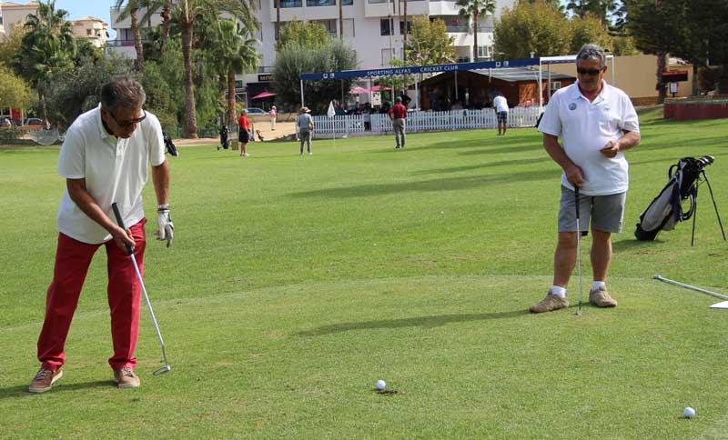 El  IV trofeo de Golf  del Club de Leones recaudó 600 € que se destinarán al Banco de Alimentos.