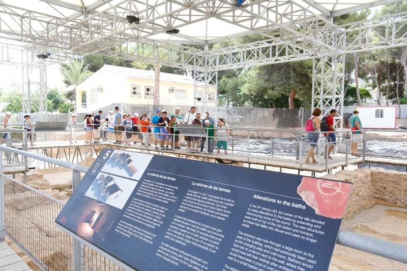 Cerca de 50.000 personas visitan en verano la ruta al faro de l'Albir, el CIFA y el Museo Villa Romana