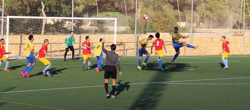 Partido muy disputado de los alfacinos ante el San Blás para conseguir tres puntos más.