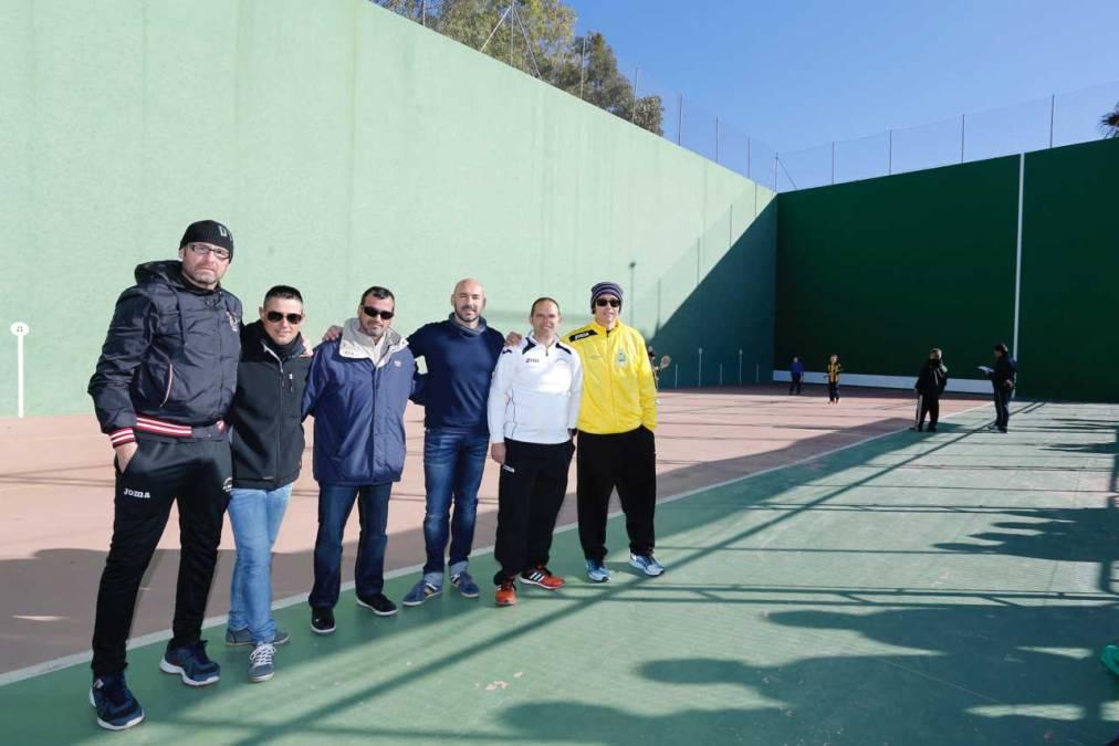 Los 34 Jocs Esportius de Frontenis de la Comunitat reúnen en l'Alfàs y La Nucía a un centenar de jugadores