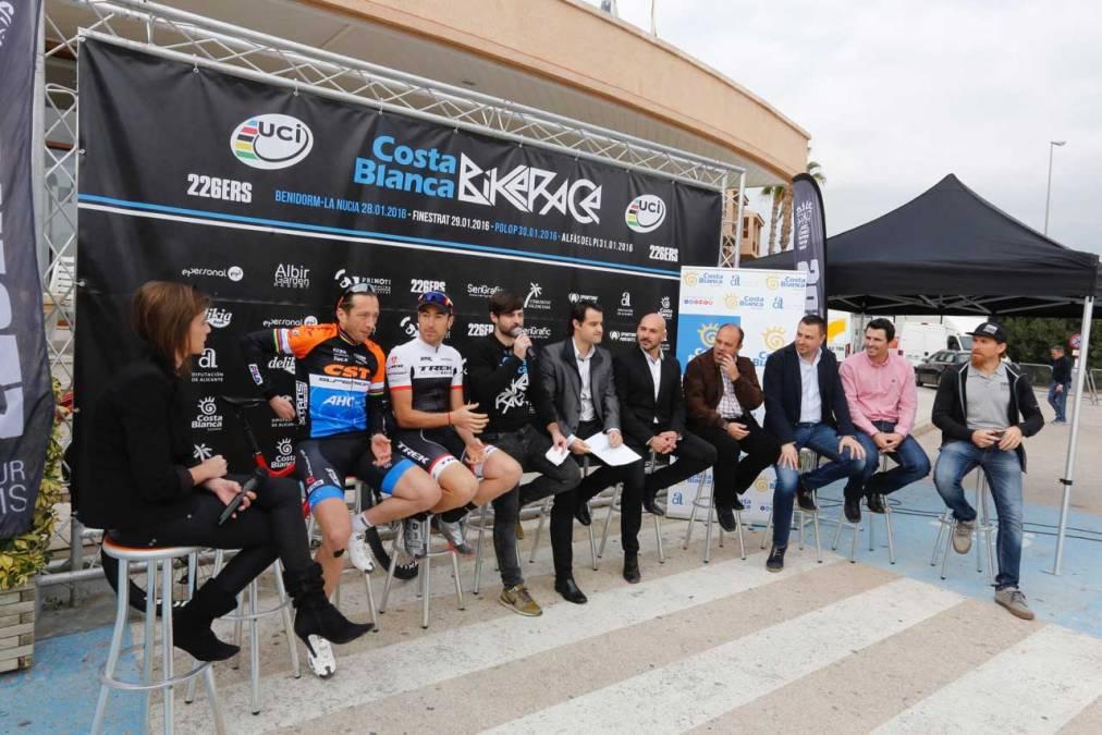 La II Costa Blanca Bike Race finalizará en l'Alfàs del Pi con una cronoescalada hasta el repetidor de Serra Gelada