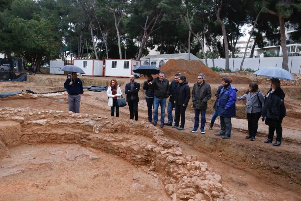 El Taller de Empleo de Arqueología trabaja en la ampliación de la zona visitable del Museo Villa Romana de l'Albir