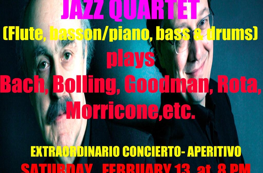 Nova & Vernizzi Jazz Quartet ofrecerá este fin de semana dos conciertos en l'Alfàs del Pi