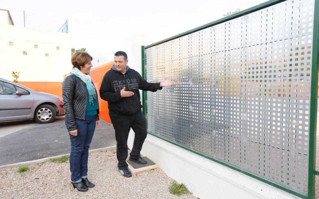 El Ayuntamiento de l'Alfàs mejora las medidas de seguridad en el CEIP Santísimo Cristo del Buen Acierto