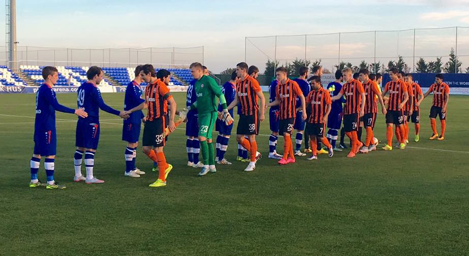 El Lokomotiv de Tiblisi es uno de los cinco equipos de fútbol que se preparan en l'Alfàs del Pi