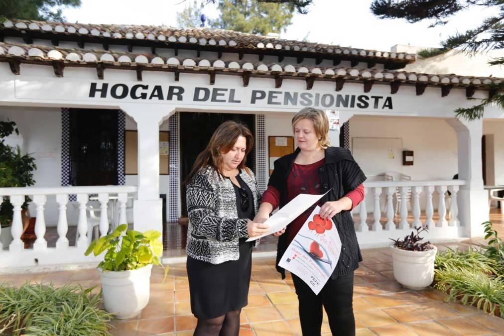 El Ayuntamiento de l'Alfàs organiza una merienda de San Valentín para los mayores del municipio