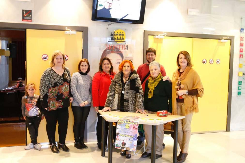 La Casa de Cultura de l'Alfàs acogió una gala a beneficio de AFEM Marina Baixa