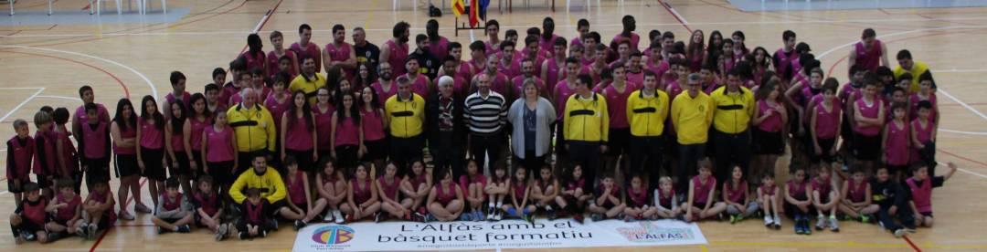 El club de bàsket Terralfàs se presentó ante su afición