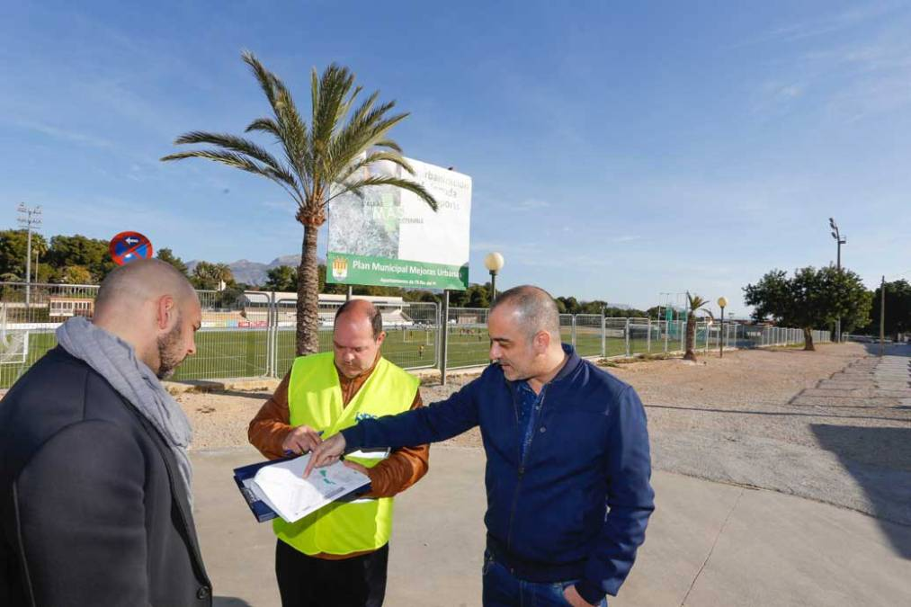 Arrancan las obras de reurbanización de la avinguda dels Esports
