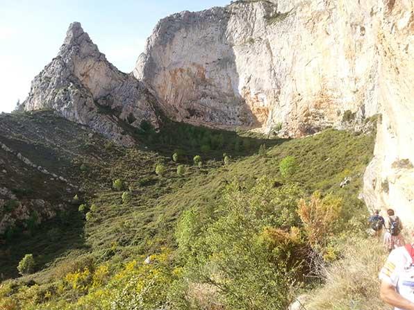 Los parajes del monte Ponoig destino de  una nueva  caminata dentro de las actividades para mejorar la salud .