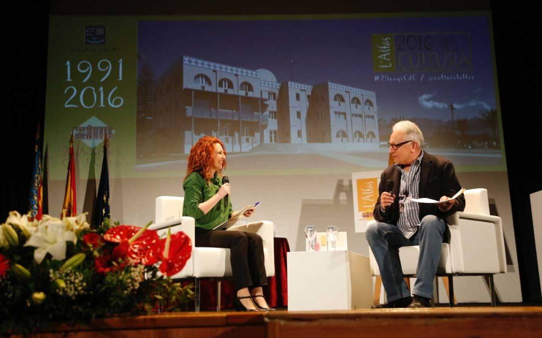 Fernando Delgado destaca la extraordinaria dimensión cultural de l'Alfàs del Pi