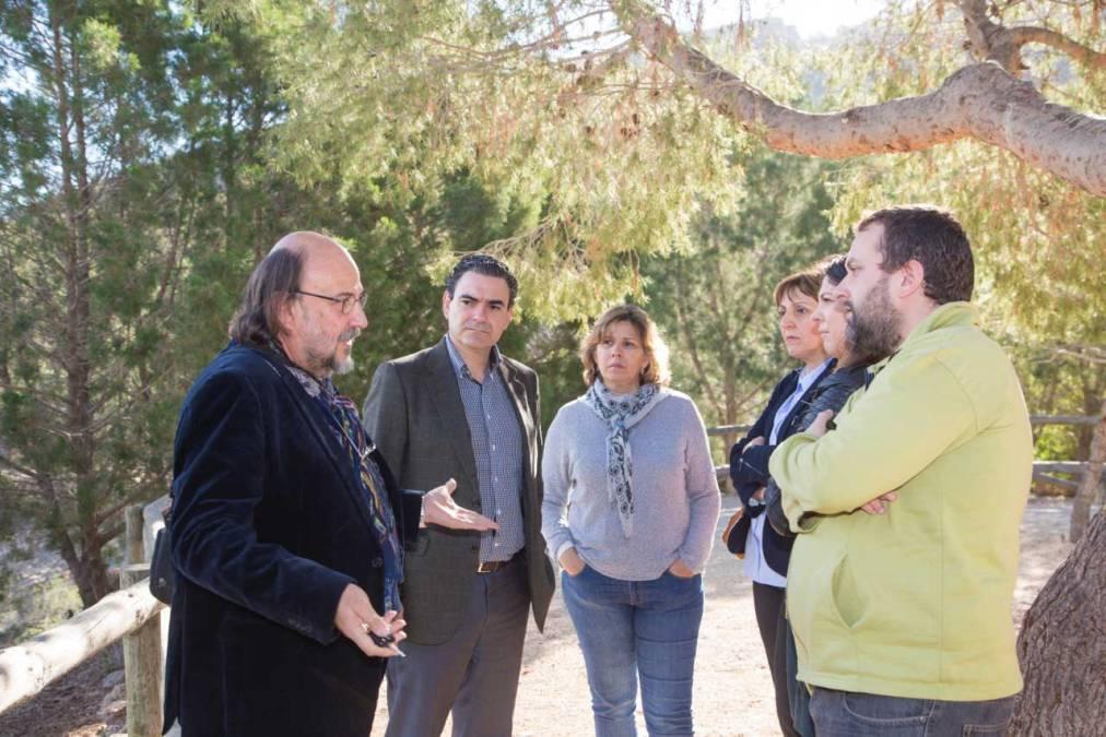 El nuevo presidente de la Junta Rectora de Serra Gelada se reúne con el alcalde de l'Alfàs del Pi