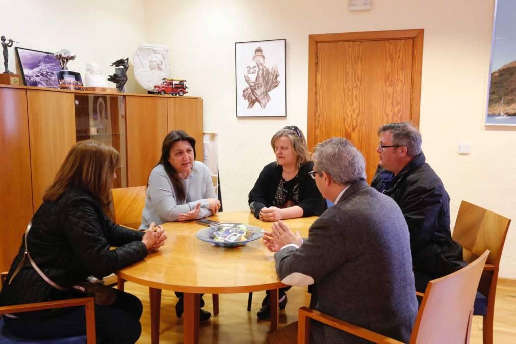 El Ayuntamiento de l'Alfàs del Pi inicia una línea de colaboración con ASPANION